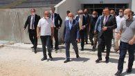 Özdemir'den, Yeni Stadyumda İnceleme