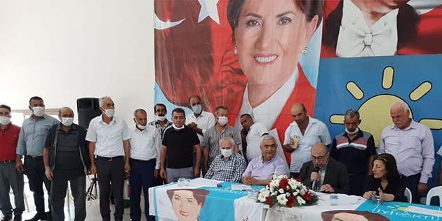 İYİ Parti Altınözü İlçe Başkanı Ömer Bozkurt