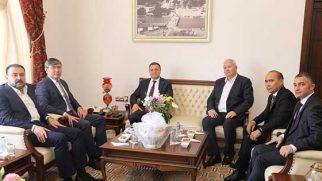 Kazakistan Büyükelçisi'nden HBB Ziyareti