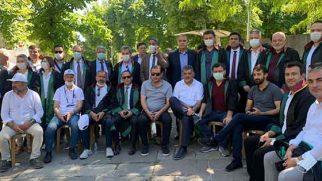 Güzelmansur'dan Baro Başkanlarına destek…