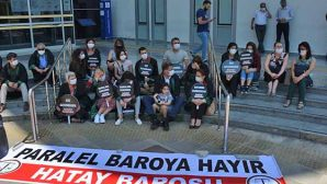 """""""Çoklu Baro"""" Yasası en küçük protestocusu"""