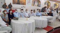 Düğüne katılan AKP'li Yöneticilerde maske hassasiyeti