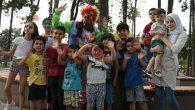 Gönüllü Palyaçolar Çocukları Eğlendiriyor