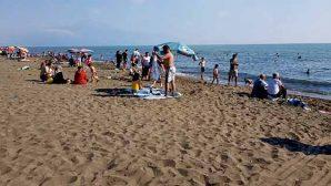 Sıcaklardan denize atladık ama…