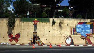 Sokakları Sanat Eserine Dönüştürüyor