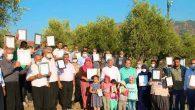 Hassa'da 3 Çevre Mahalle Sakinleri Yıllar Sonra Tapu Aldı