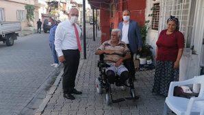 Tosyalı, 4 Engelliye Tekerlekli Sandalye Aldı