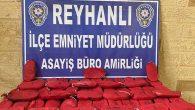 Reyhanlı'da uyuşturucu operasyonu: