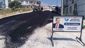 Antakya Belediyesinden Asfalt Hizmeti