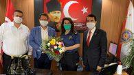 CHP'li Kurmaylar Emniyet Müdürü Ziyaretinde