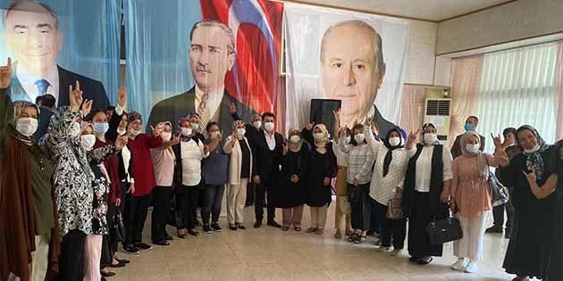 MHP Dörtyol'da kongre yaptı: