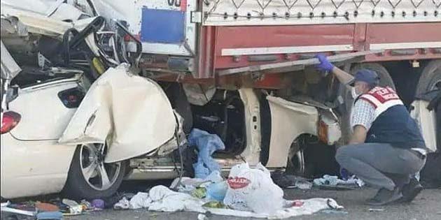 Ankara-Gölbaşı'nda kaza: 7 ölü