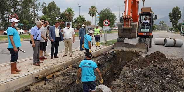 HATSU Altyapı Onarımı İskenderun'da