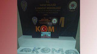 Hatay Kom Polisi 4 kişiyi yakaladı