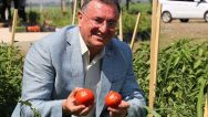 Organik Sebzelerin Hasadı Yapıldı