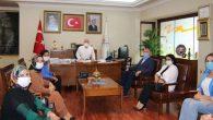 AK Partili Kadınlardan Tosyalı'ya Ziyaret