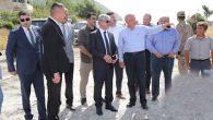 Vali Doğan, Kale-Arsuz yolunun Büyükşehir  yetkisinde olduğunu söyledi