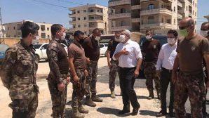 Yayman, bayramda Afrin'e gitti…