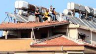 Hatayspor aşkı çatı üzeri dinlemez