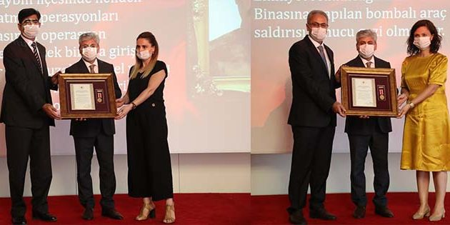 Hatay'da Devlet Övünç Madalyası ve Beratı: