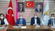 AKP kurmayları video konferansta