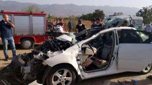 Astsubay ve Eşi Öldü,  2 Çocuğu Yaralı…