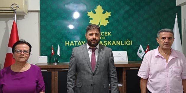 GP'nin Hatay İl Kadın Kolu Başkanı Aysel Horoz…
