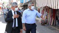 Vali, Kırıkhan'da Kovid Denetiminde