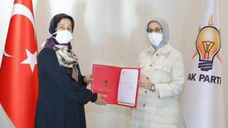 AKP Kadın Kolu yeni Başkanı