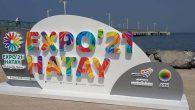 İskenderun Sahiline EXPO Logosu