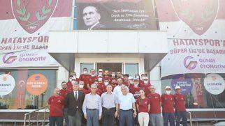 Günay Otomotiv Ailesi Hatayspor Kupasıyla