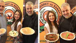 Hamdi Alkan'dan  Tescilli  Lezzetlere  Destek