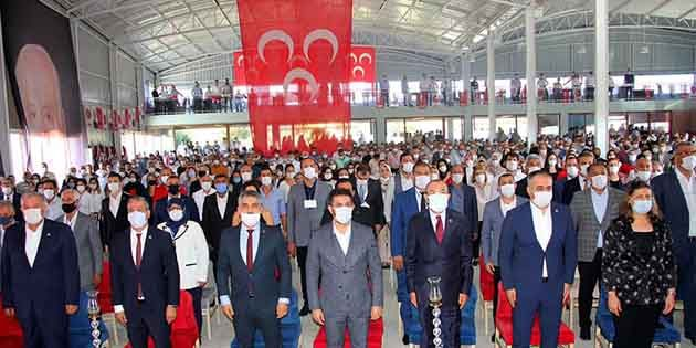 MHP İl Kongresi yapıldı