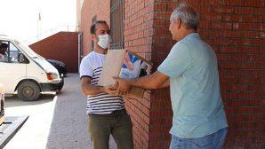 Hatay Büyükşehir Belediyesi, Defne Sabunu dağıtıyor