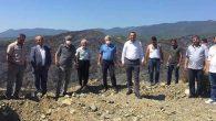 CHP'liler Yanan Orman Bölgesinde