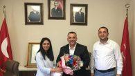 CHP'den MHP'ye çiçekli ziyaret