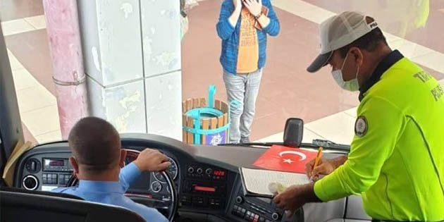 Kovid temaslısı 2 şoför de Hatay otobüsünde