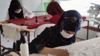 Hatay'daki Suriyeli kadınlar meslek öğrendi: