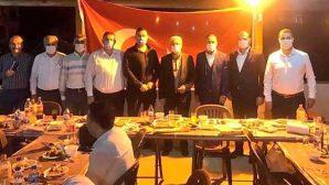 AKP ve CHP'Lİ başkanlar  hrisi sofrasında buluştu