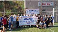 Amatör Spor Haftasında Atletizm Yarışmaları