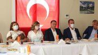 Adana ve Mersin BŞB Başkanlarına Arıtma tesisi brifingi: