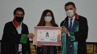 Antakya'da 7 Genç Avukat Cübbe Giydi
