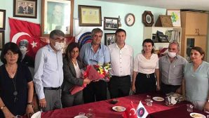 CHP'liler Muhtar Ziyaretinde