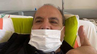 Fatih Ertürk Kovid Hastası Oldu