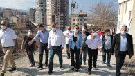 HDP heyeti yangın bölgesinde
