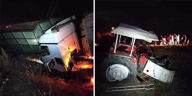 Kırıkhan'da gece yarısı kaza