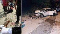 Samandağ'da  2 kaza