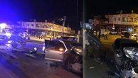 Antakya-Samandağ yolunda kaza  1 Yaralı…
