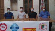 DİSK, KESK, TMMOB ve TTB'den orman yangınları ortak mesajı: