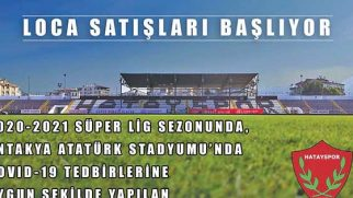 Hatayspor – Sivasspor Maçına 300 Seyirci